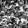 President-elect John F. Kennedy, a face in the crowd at the Orange Bowl game, Miami, Janurary 1, 1961