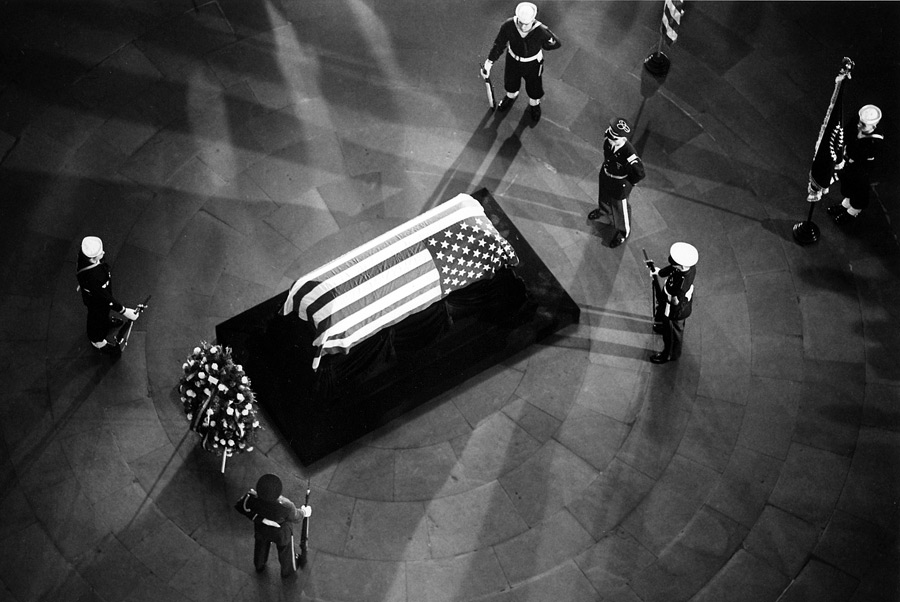 John F. Kennedy's funeral in Washington D.C. November, 25 1963