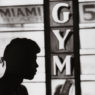 Cassius Clay at the 5th Street Gym, Miami Beach, FL 1961
